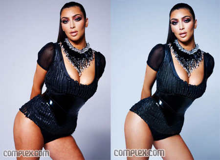 Kardashian Stretch Marks on Kim Kardashian Cellulite Jpg